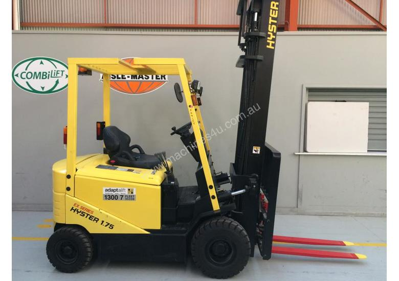 4 Wheel Battery Electric Counterbalance Forklift