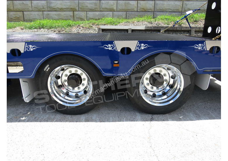 Interstate Trailers ELITE Tandem Axle Tag Trailer Custom Blue ATTTAG