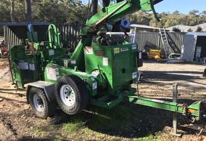 bandit woodchipper 990XP 2012 low 1900hrs,  big infeed, winch, 114hp engine