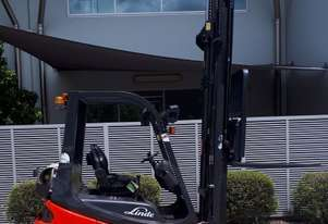 Used Forklift:  H18T Genuine Preowned Linde 1.8t