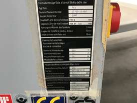 Altendorf Elmo4 3.8M Panel Saw - picture2' - Click to enlarge