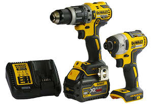 13MM HAMMER DRILL, IMPACT DRIVER 2PC KIT