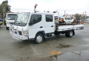 2007 Mitsubishi Canter 7/800 Diesel 4x2 Dual Cab Tray Back Truck (See Note)