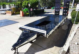 ELITE Tandem Axle Tag Trailer Custom Black ATTTAG