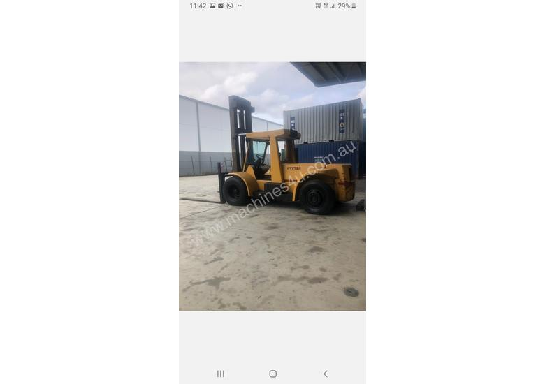 Hyster Model H250H container forklift