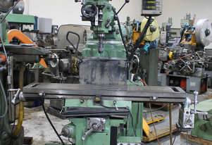 Eumega MD-V4 Turret Milling Machine