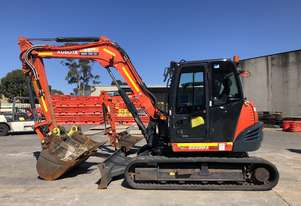 Used 2016 KUBOTA KX080  8 Tonne Excavator for sale, 2233.00 hrs - Sydney NSW
