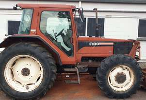 Fiat F100 Cab tractor with blade