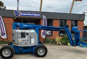 USED 2008 GENIE Z34/22IC DIESEL ARTICULATING BOOM LIFT