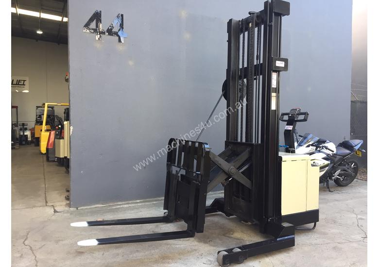 Crown 30WRTL150 Heavy Duty Walkie Reach Forklift  Fully Refurbished & Repainted