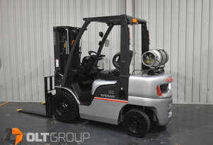 Nissan 2.5 Tonne Forklift Container Mast LPG EFI Engine 4300mm Lift Height Solid Tyres