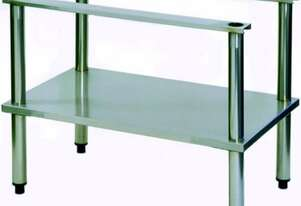 Goldstein SB45 Stainless Steel Griddle and Teppanyaki Stand with Undershelf