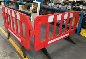 PORTABLE STACKABLE BARRIERS