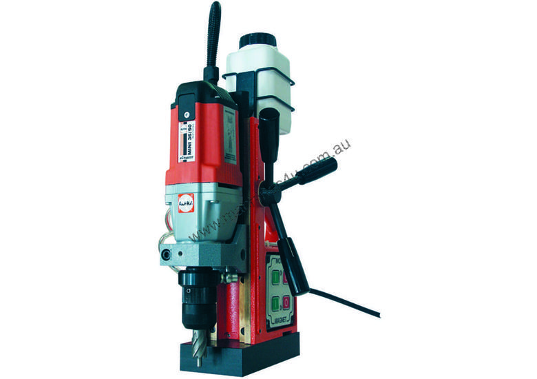 ALFRA EM 50 Magnetic Base Drill. 50mm Drilling Capacity. Made in Germany.