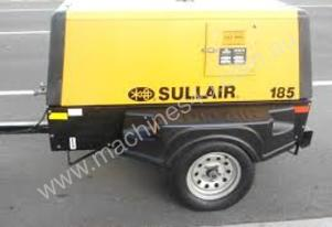 New Sullair 185 Cfm Air Compressor 125 psi 8 bar