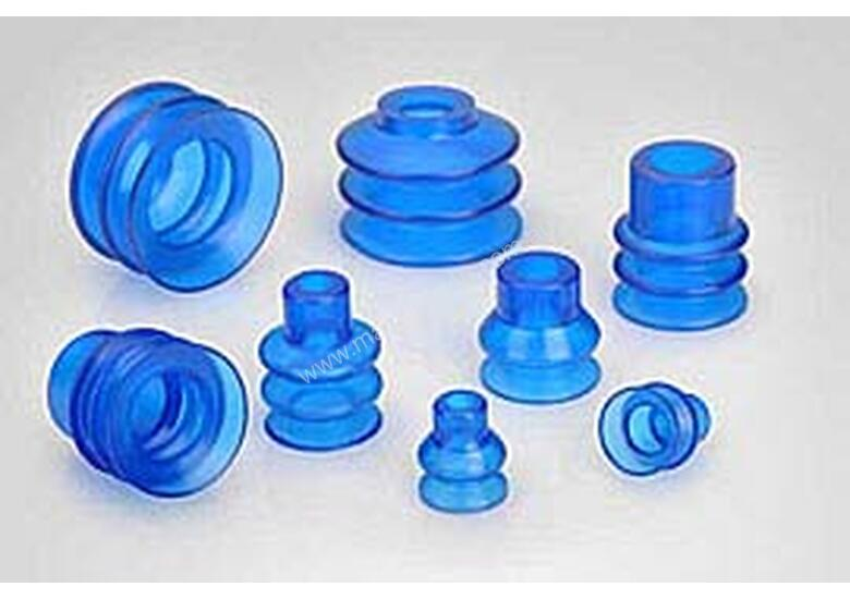 Suction cups for the packaging industry.