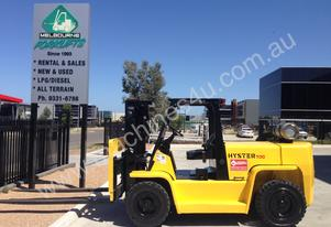 Hyster   7ton Container entry