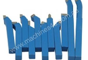 12x12mm Carbide Tipped 11pcs Lathe Tool Set