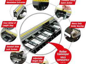 RCS-290 Roller Conveyor Length Stop 3000mm Suits RC-290 Conveyor - picture5' - Click to enlarge