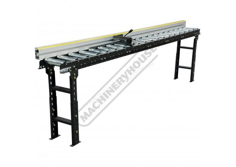 RCS-290 Roller Conveyor Length Stop 3000mm Suits RC-290 Conveyor