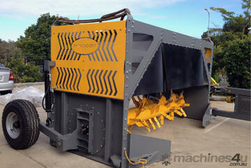 Compost Windrow Turner - Aust Made 1800 series
