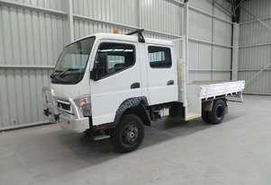 Fuso 2010   4x4 Canter tray