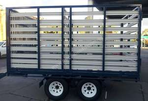Blyth Built CATTLE TRAILER with HURDLES
