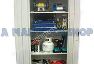 STORAGE CABINET 4 SHELF LOCK 1800X900MM