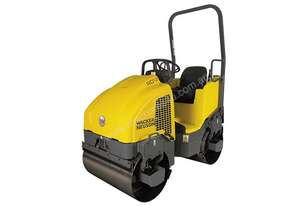 WACKER NEUSON RD12A-90 Double Drum Ride On Roller