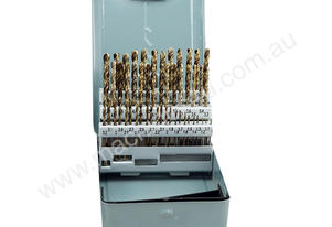 HSS-Co (5% Cobalt) Drill Bits 1-6mm Set 51pcs