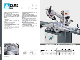 MEP SHARK 282 CCS Manual Bandsaw - picture2' - Click to enlarge