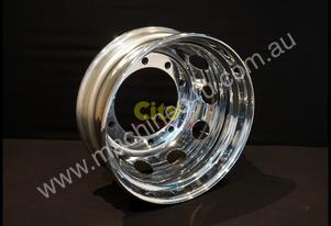 10/335 8.25x22.5 Chrome Steel Rims