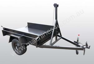 6×4 Manual Smooth Tipper Trailer