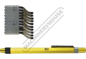 D061 Deburring Tool - Pocket Clip Includes 10 HSS Blades