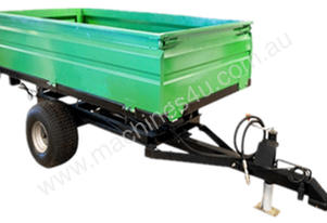 TIPPER TRAILER 2TON 2 WHEEL HYDRAULIC