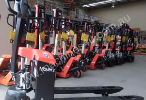 Full Electric 1.5 Ton Pallet Jack