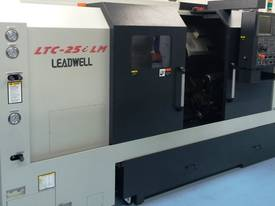 LEADWELL LTC-25iLM SLANT BED CNC LATHE EX STOCK - picture1' - Click to enlarge