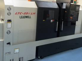 LEADWELL LTC-25iLM SLANT BED CNC LATHE EX STOCK - picture7' - Click to enlarge