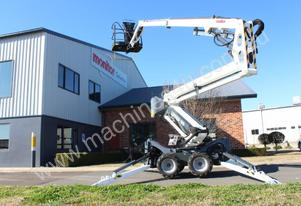 Leguan 160 narrow access 4WD Diesel Spider Lift