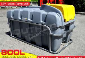 800L 12V Diesel tank Unit with mounting Frame
