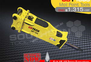 UBT180S Moil point Tool for Hydraulic Hammer
