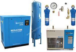 Senator 18 kW Air Compressor Professional Package