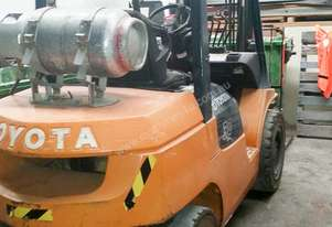 TOYOTA FORKLIFT  - Joinery Clearance Auction