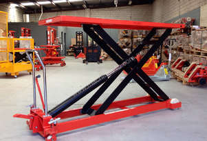 1T Hydraulic scissor lift table/trolley-duper large