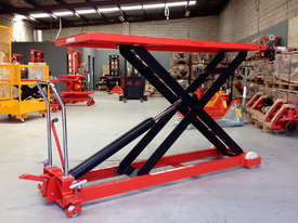 1T Hydraulic scissor lift table/trolley-duper large - picture0' - Click to enlarge