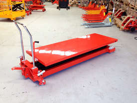 1T Hydraulic scissor lift table/trolley-duper large - picture4' - Click to enlarge