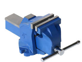 A83031 - FIXED BASE BENCH VICE 100MM - picture0' - Click to enlarge