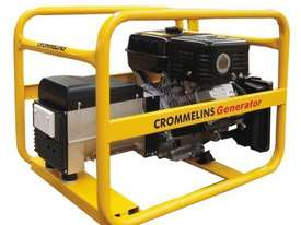 Crommelins 7.5kVA Generator Worksite Approved Petrol - picture0' - Click to enlarge