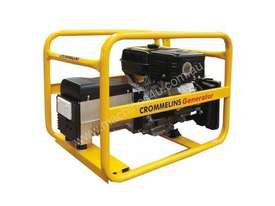Crommelins 7.5kVA Generator Worksite Approved Petrol - picture1' - Click to enlarge