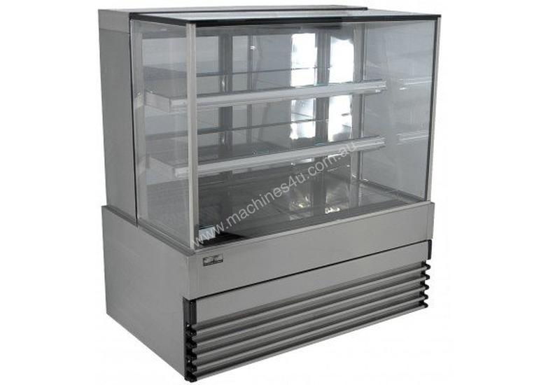 Koldtech KT.NRSQCD.20 Squre Glass Ambient Display Cabinet - 2000mm